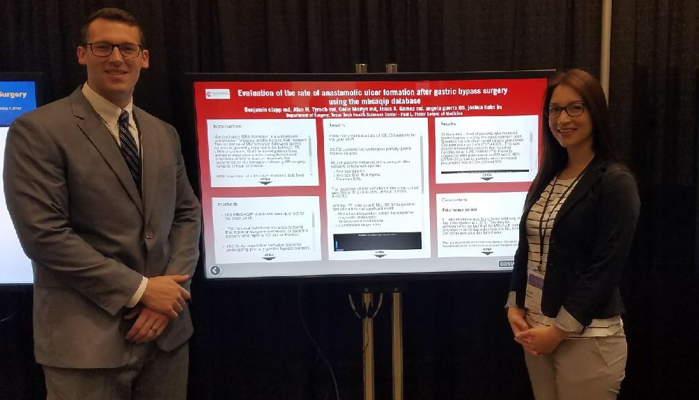 Poster presentation at the Society of American Gastrointestinal and Endoscopic Surgeons, Seattle, WA,  Apr 2018.