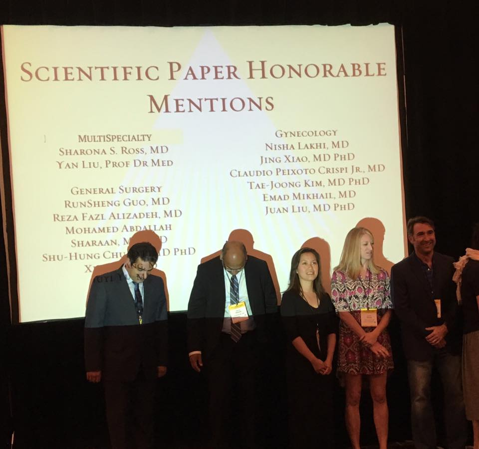 El Paso Bariatric award at the Society of Laparoendoscopic Surgeons