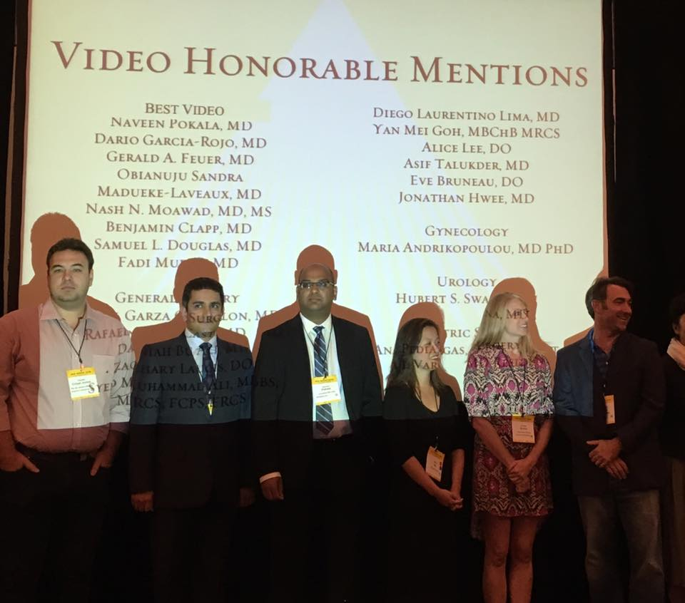 El Paso Bariatric award at the Society of Laparoendoscopic Surgeons